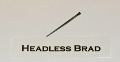 Headless Brad Cut Nail