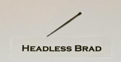 Headless Brad Cut Nail