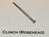 Clinch (Rosehead) Cut Nail