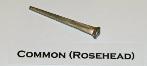 Common Rosehead Cut Nail