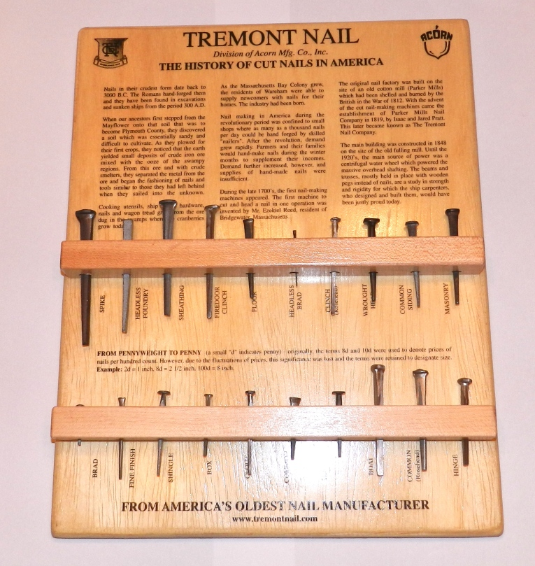 Tremont Nail Display Board