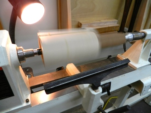 Turning the mallet