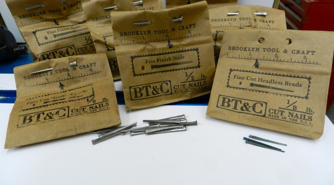 Brooklyn Tool and Craft bags of cut nails