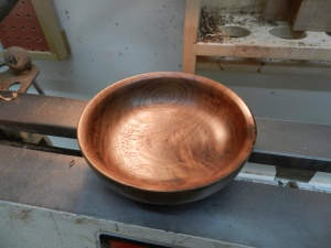Finished bowl