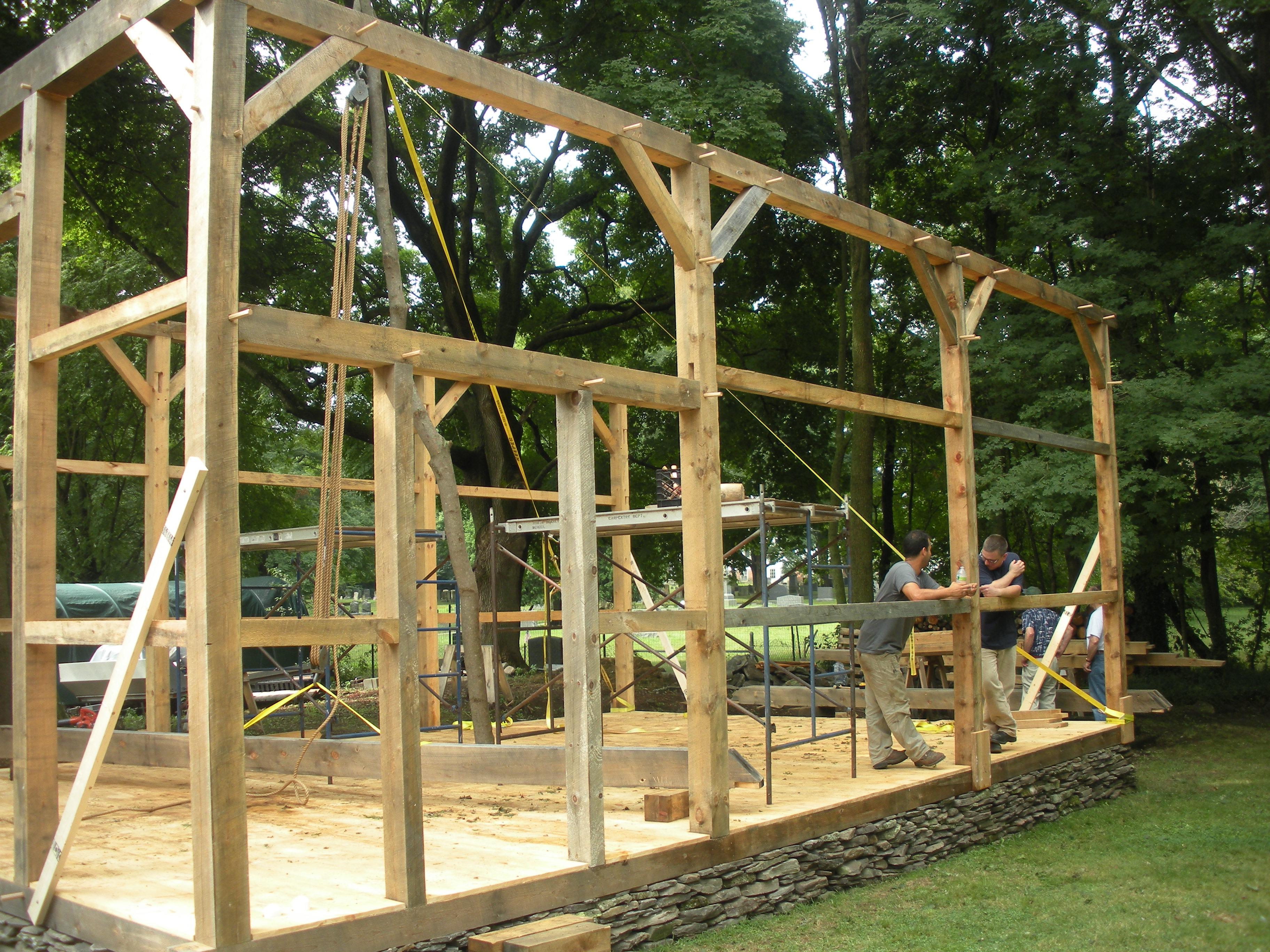 Timber Framing Rainford Restorations
