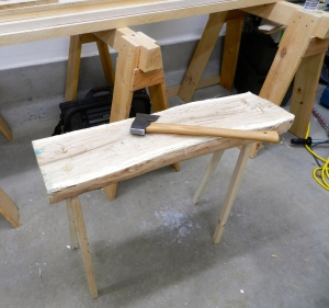 Enjoy your new hewing bench