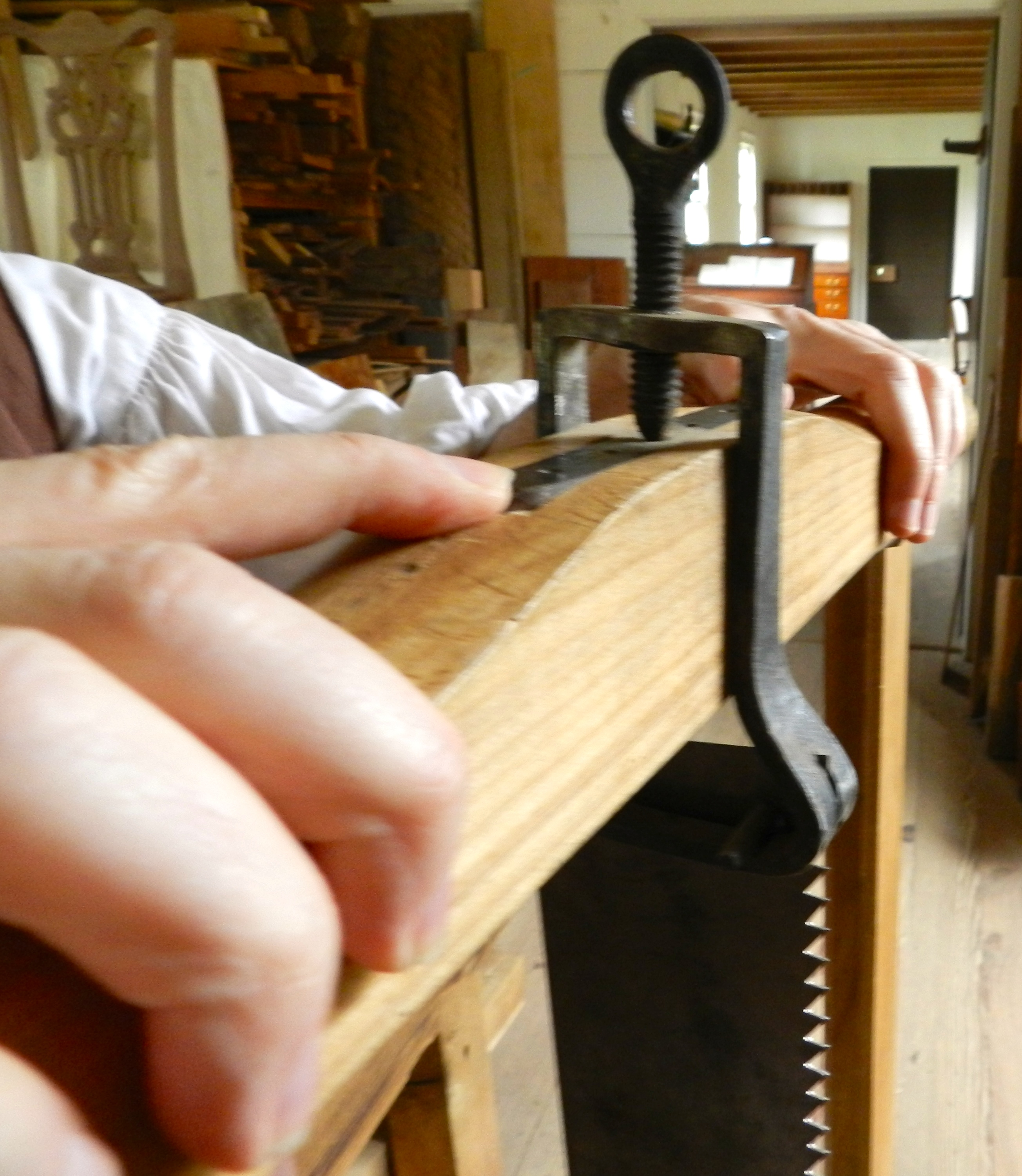 The Frame Saws of Colonial Williamsburg | Rainford Restorations