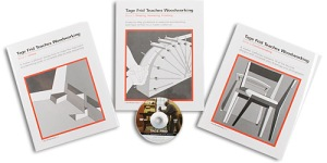 Tage Frid Teaches Woodworking Boxed Set by The Taunton Press