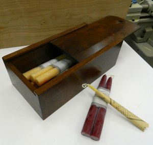 Dovetailed Candle Box
