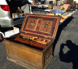 Nice inlaid tool chest
