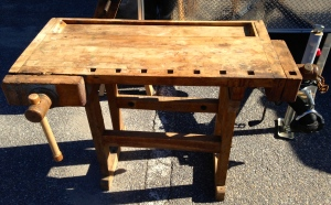 Sloyd style youth workbench -- though not a Larsson bench
