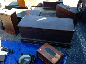 Nice selection of sea chests, cabinets and small chests