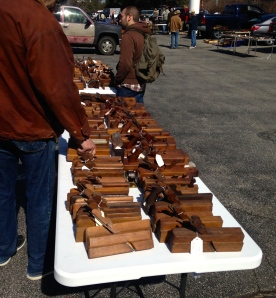 Great selection of molding and bench planes