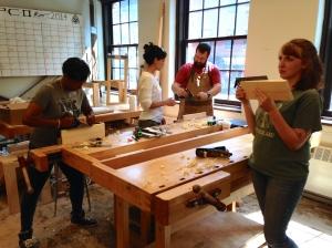 Bill Rainford Teaching Traditional Woodworking