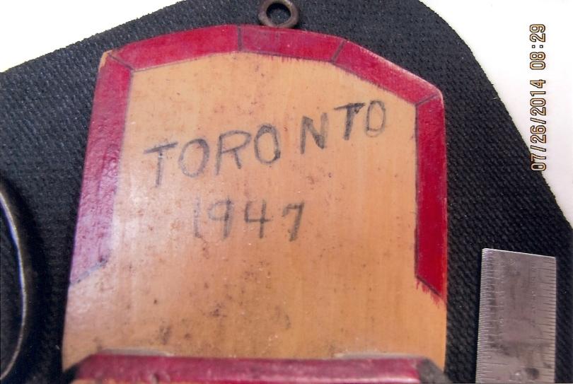 Dated Toronto 1947