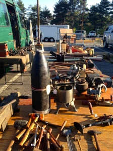 Everything from massive shell casings to paint mills