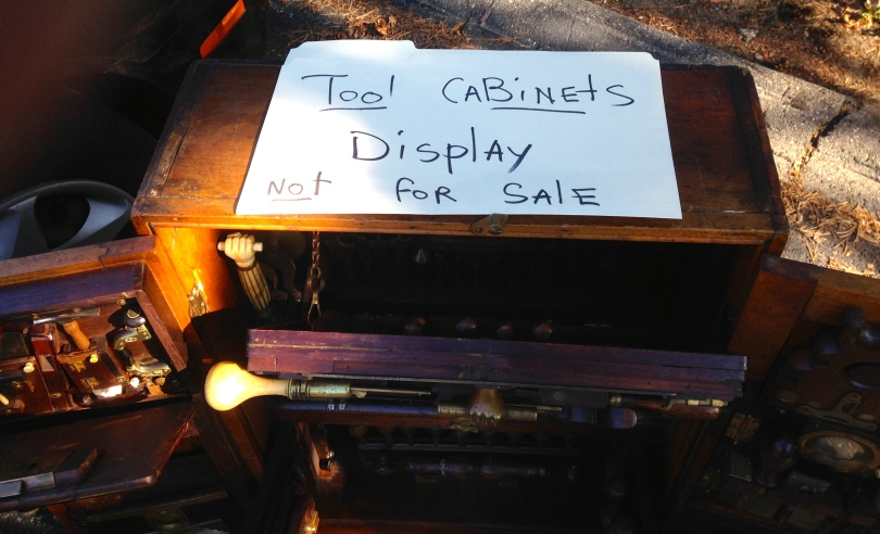 Tool Cabinets for Display, Not for Sale