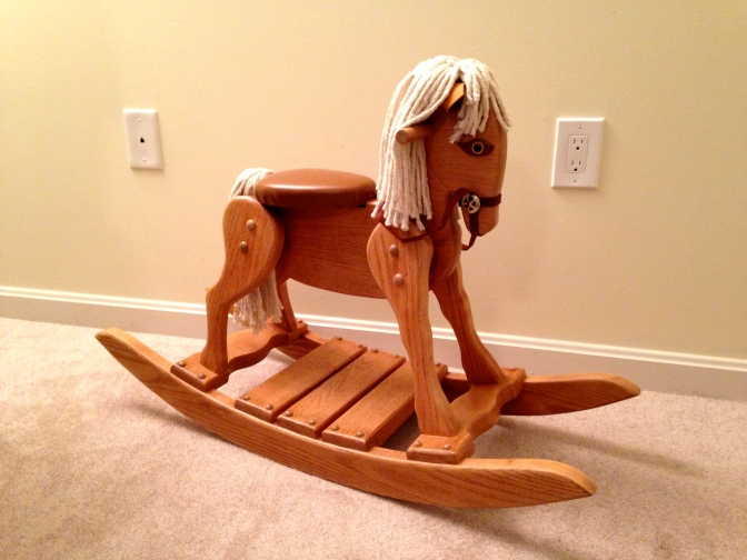 Rocking Horse 33 Years In The Making