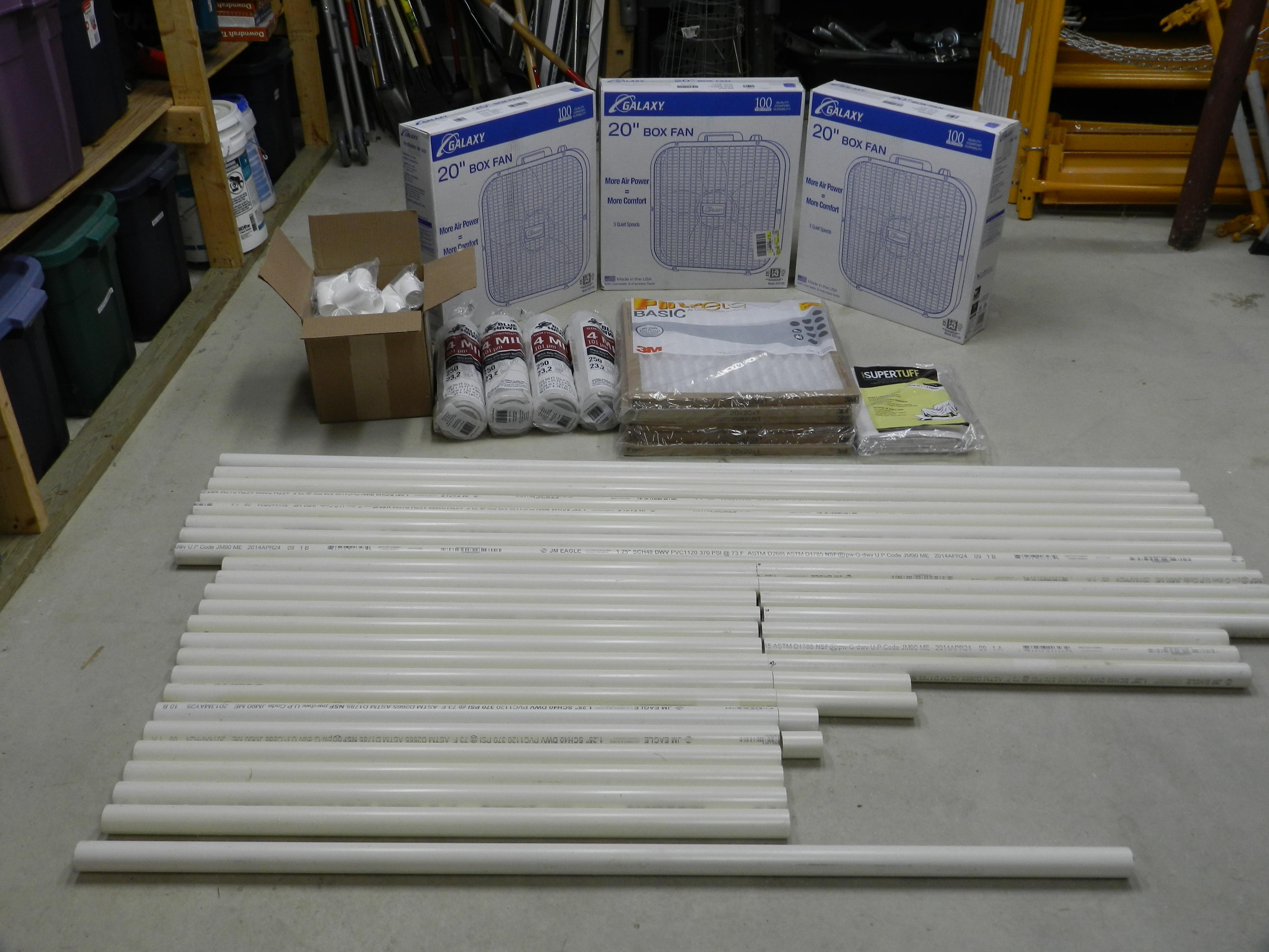 Building A Budget Spray Booth Rainford Restorations