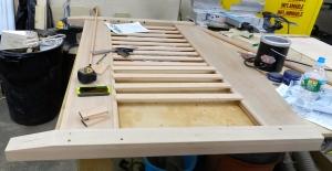 Installing the slats
