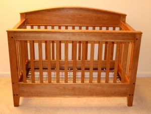 Completed Crib