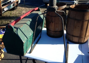 Nail casks and tool tote