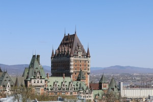 The Frontenac Hotel and Old Quebec