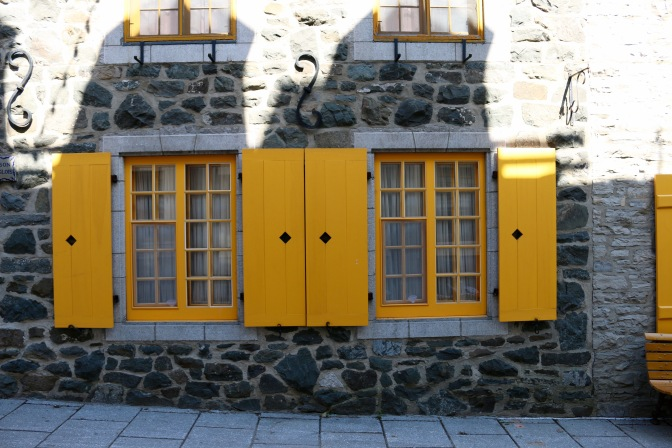 The Shutters of Old Quebec