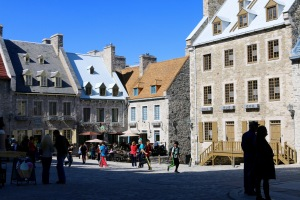 Place Royale Square -- Quebec