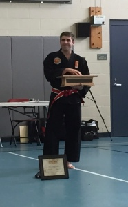 Master Lee describing what the belt means to him and the long road it took to get it