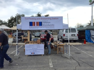 Veteran Woodworkers Association -- Tool Testing and Sharpening Station
