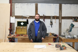 Me in one of the locations you've seen in Popular Woodworking videos