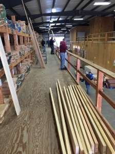 The project starts at the wood supplier -- in this case Highland Hardwoods -- my favorite.