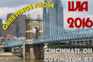 Greetings from Popular Woodworking in America 2016