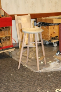 Nicely proportioned stool