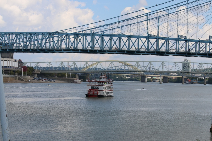Another great view of the Cincinnati waterfront.