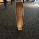 You know Roy Underhill's presentation killed -- there were a LOT of coffins all over the room.