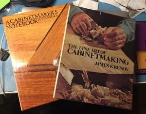 The Cabinetmaker's Notebook and The Fine Art of Cabinetmaking by James Krenov