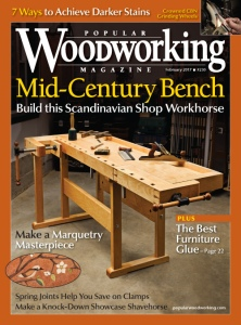 Popular Woodworking February 2017 Cover