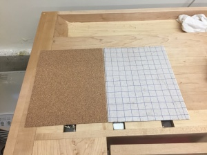 Self-adhesive cork sheets