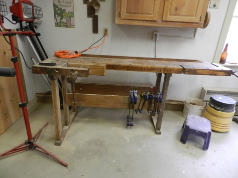 One of Tage Frid's Original Workbenches that pre-dates his famous articles and books.