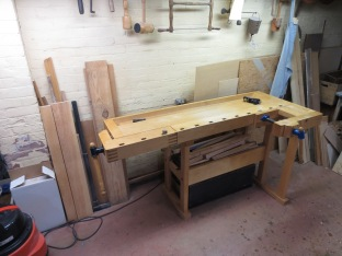 Left-handed original plans Tage Frid workbench by Paul Van Pernis