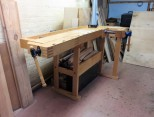 3/4 view of workbench