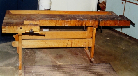 Bob Flexner's ETA brand Danish workbench