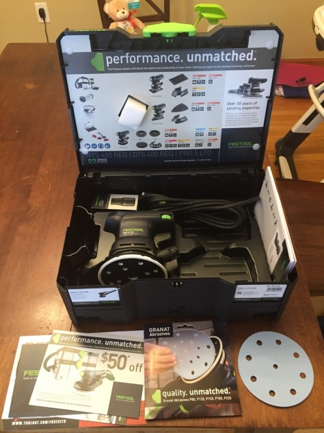 Contents of the Festool PRO5 LTD Kit